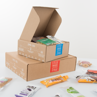 mini box de snacks saludables